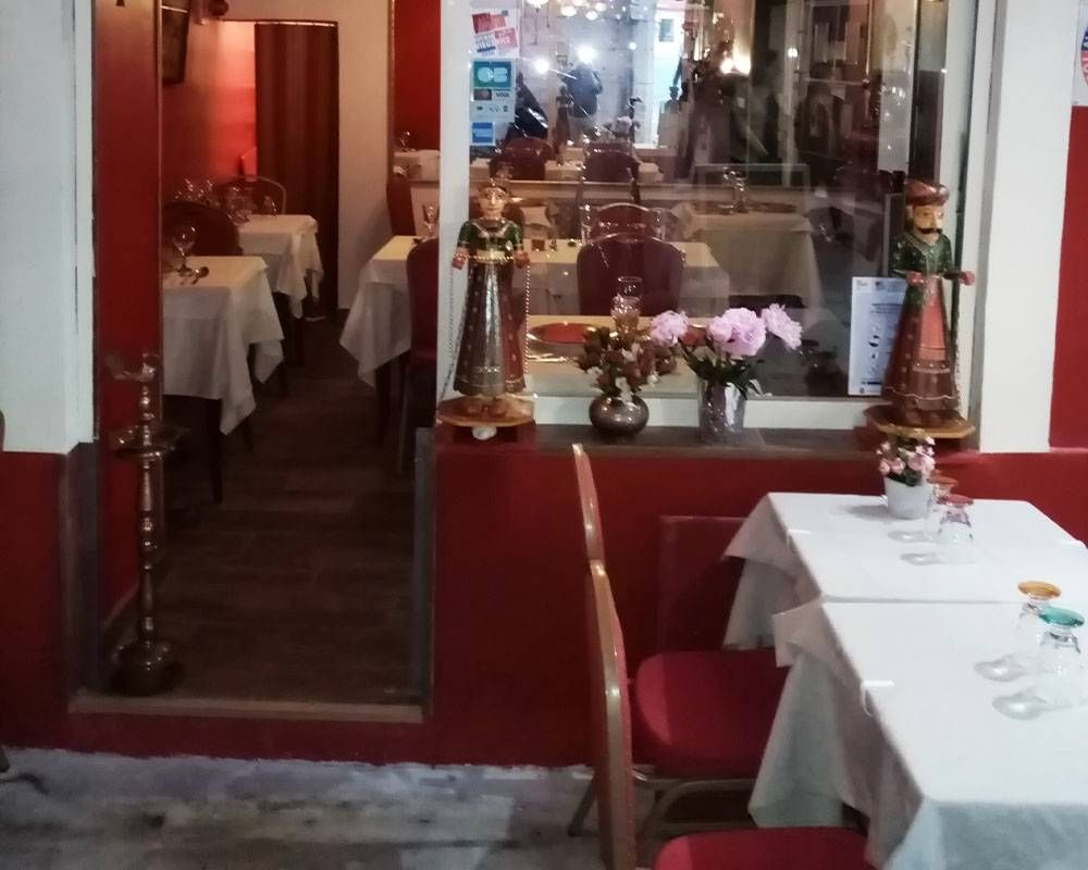 Restaurant - Route des Inde - Indien Nice